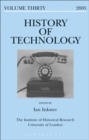 Image for History of technology..: (European technologies in Spanish history) : Vol. 30,