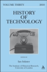 Image for History of technology.Vol. 30,: European technologies in Spanish history : v. 30 : European Technologies in Spanish History