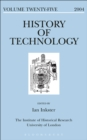 Image for History of Technology, Volume 25 : 25.
