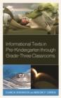 Image for Informational Texts in Pre-Kindergarten through Grade-Three Classrooms