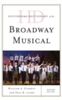 Image for Historical dictionary of the Broadway musical