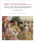 Image for The Civilization of the Italian Renaissance : A Sourcebook
