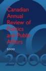 Image for Canadian Annual Review of Politics and Public Affairs 2000