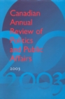 Image for Canadian Annual Review of Politics & Public Affairs: 2003
