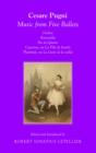 Image for Music from five ballets: Ondine ; Esmeralda ; Pas de quatre ; Catarina, ou La fille du bandit ; Theolinda, ou Le lutin de la vallee