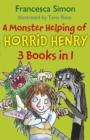 Image for A monster helping of Horrid Henry