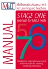 Image for MaLT Stage One (Tests 5-7) Manual (Mathematics Assessment for Learning and Teaching)