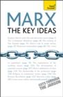 Image for Marx  : the key ideas