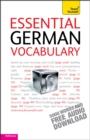 Image for Essential German vocabulary