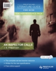 Image for An inspector calls, J.B. Priestley: Teacher resource pack