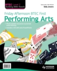 Image for Friday afternoon BTEC first performing arts