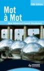 Image for Mot a mot: new advanced French vocabulary