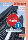 Image for Cambridge Checkpoint Maths Teacher's Resource Book 1