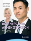 Image for Business and administration NVQ level 2