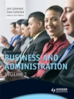 Image for Business and administrationNVQ level 3