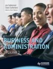 Image for Business and administration. : NVQ level 3