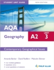 Image for AQA A2 geographyUnit 3,: Contemporary geographical issues