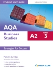 Image for AQA A2 business studiesUnit 3,: Strategies for success