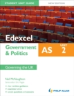 Image for Edexcel AS government & politicsUnit 2,: Governing the UK