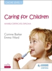 Image for Caring for children  : award/certificate/diploma