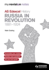 Image for AS Edexcel history: Russia in revolution, 1881-1924