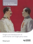 Image for Origins and development of authoritarian and single-party states