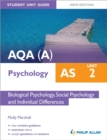 Image for AQA(A) AS psychologyUnit 2,: Biological psychology, social psychology and individual differences
