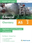 Image for Edexcel AS chemistryUnit 2,: Application of core principles of chemistry