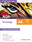 Image for AQA AS sociologyUnit 1,: Families and households