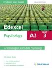 Image for Edexcel A2 psychologyUnit 3,: Criminological and child psychology