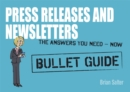 Image for Newsletters and press releases