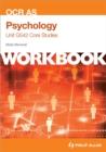 Image for OCR AS psychologyUnit G542,: Core studies