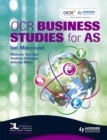 Image for OCR business studies for AS