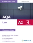 Image for AQA A2 lawUnit 4 (section C),: Concepts of law