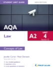 Image for AQA A2 law.: (Concepts of law) : Unit 4 (section C),