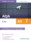 Image for AQA AS lawUnit 1,: Law making and the legal system