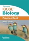 Image for Cambridge IGCSE biology: Practice book