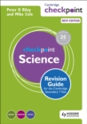 Image for Cambridge checkpoint science revision guide for the Cambridge secondary 1 test