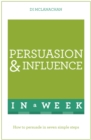 Image for Persuasion and influence in a week