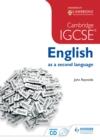 Image for Cambridge IGCSE English as a second language
