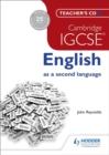 Image for Cambridge IGCSE English as a second language Teacher's CD