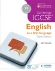 Image for Cambridge IGCSE English first language