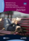 Image for National 5 English  : reading for understanding, analysis and evaluation