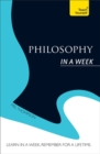 Image for Philosophy in a week