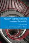 Image for Research methods in second language acquisition  : a practical guide