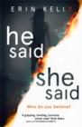 Image for He said/she said
