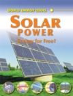 Image for Solar power  : energy for free?