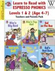 Image for Learn to Read with Espresso Phonics Levels 1&2 (Age 4-7): Teachers and Parents Pack