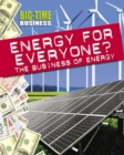 Image for Energy for everyone?  : the business of energy
