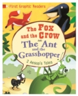 Image for The fox and the crow  : and, The ant and the grasshopper